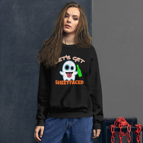 Sheetfaced Unisex Sweatshirt funny