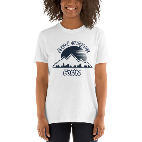 BorB Coffee Mountain Sunrise Short-Sleeve Unisex T-Shirt