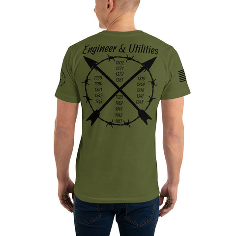 Engineer & Utilities MOS T-Shirt military