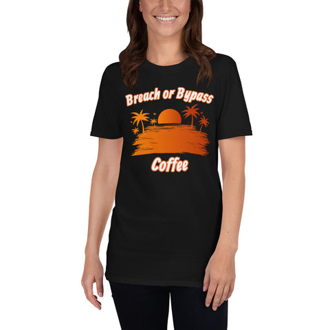 BorB Coffee Island Sunset Short-Sleeve Unisex T-Shirt