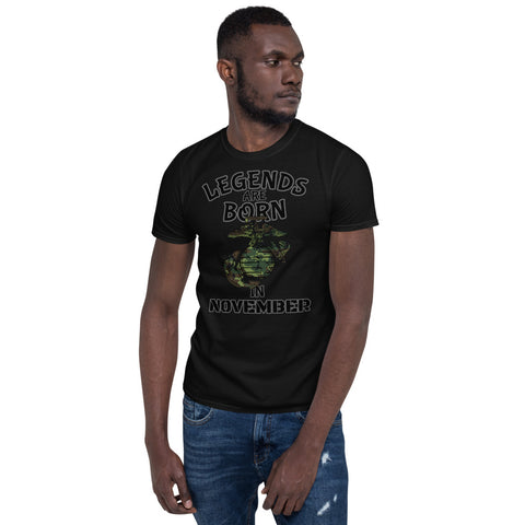 Legends November USMC Short-Sleeve Unisex T-Shirt military