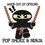Pop Smoke Ninja Bubble-free stickers accessories