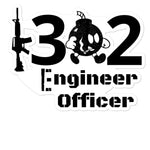 1302 Engineer Officer Bubble-free stickers accessories