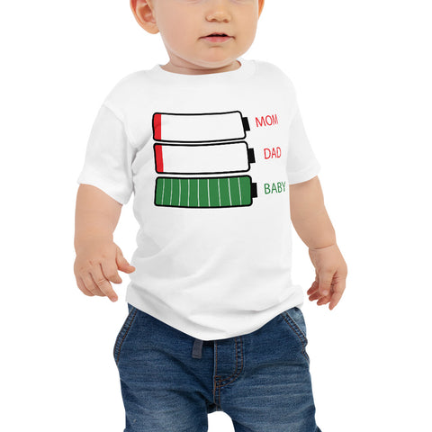 Recharge baby shirt funny