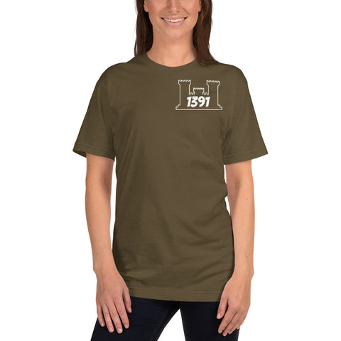1391 T-Shirt Engineer Military