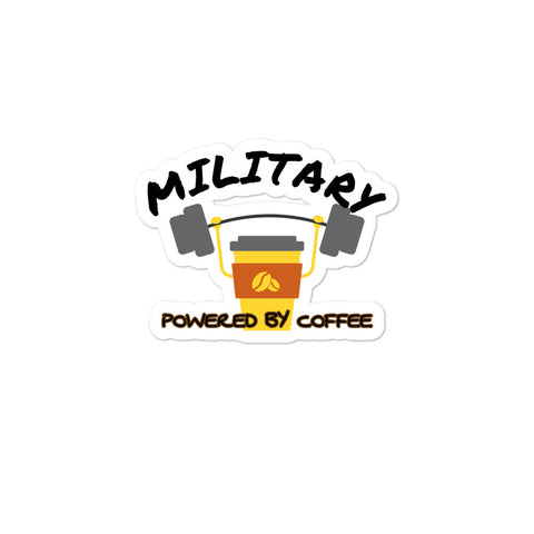 Military Coffee Bubble-free stickers accessories