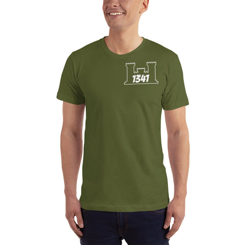 1341 T-Shirt Engineer Military