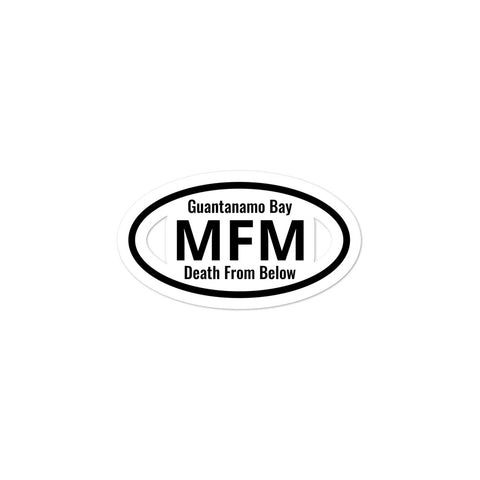 MFM I served accessories stickers