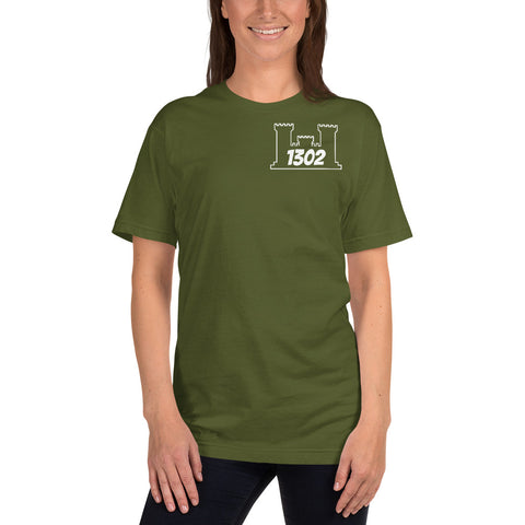 1302 T-Shirt Engineer Military