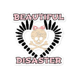 Beautiful Disaster Bullet Heart stickers accessories
