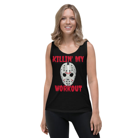 Jason Workout Ladies' Tank seasonal funny