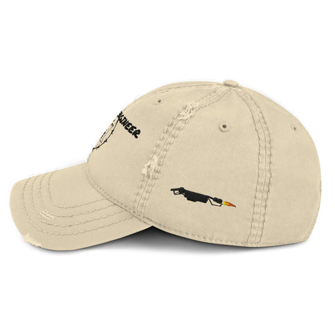 Engineer Flamethrower Distressed Dad Hat accessories