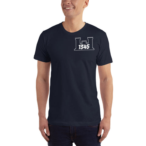 1345 T-Shirt Engineer Military