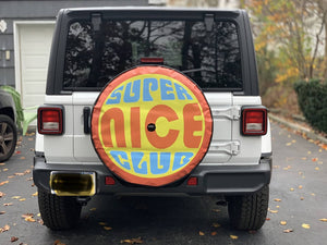 Super Nice Club Tire Cover!