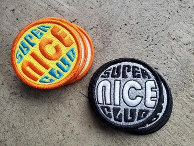 The SUPER Nice Embroidered Patch