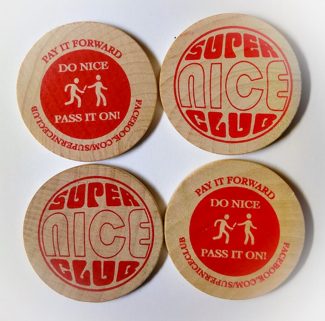 Super Nice Club: Pay It Forward SNiCkels (Pack of 8)