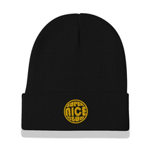 Load image into Gallery viewer, The Super Nicest Beanie: Black/White
