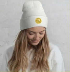 The Super Nicest Beanie: Black/White