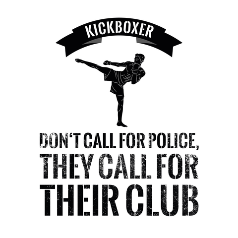 Kickboxer - don't call for police, they call for their club