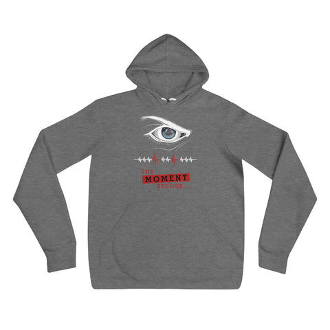Unisex Hoodie - The moment before (Kampfring im Auge)