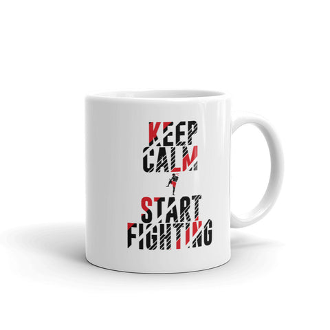 Kaffeetasse - Keep Calm & Start Fighting