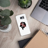 Samsung case (white) - I'm a fighter not a quitter