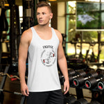 Baumwoll Tank Top Fighter - Passion, Condition, Discipline