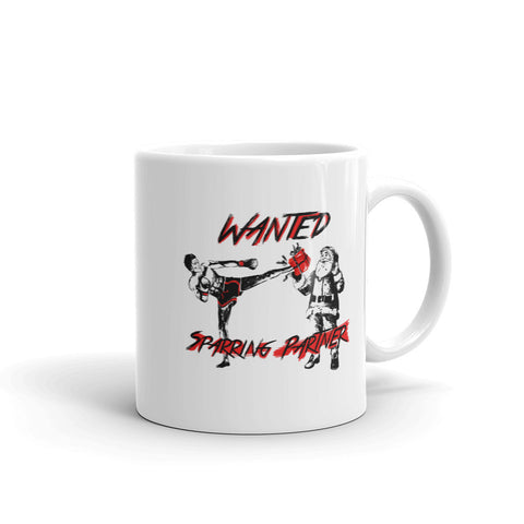 Coffee Cup - Wanted Sparring Partner