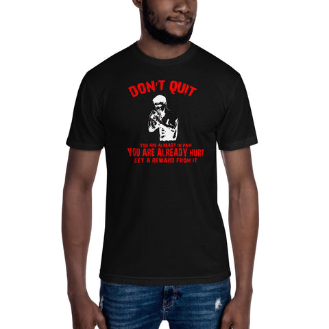 extrem weiches American T-Shirt - Don't quit