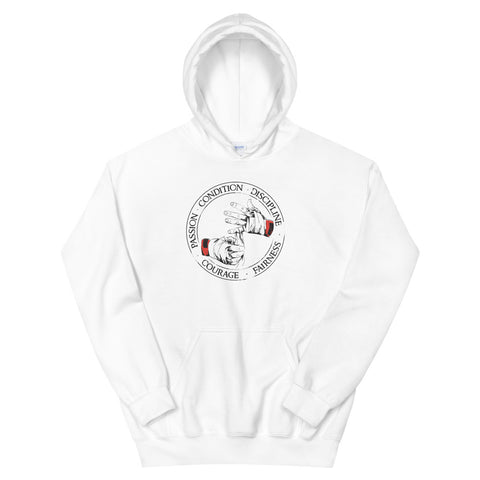 chic hoodie - Passion, Condition, Discipline, Courage