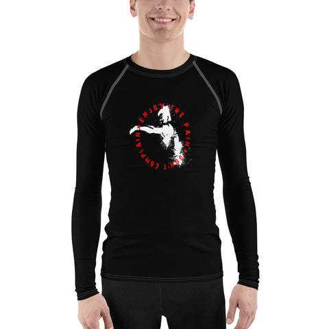 Herren Rash-Guard - Enjoy the Pain
