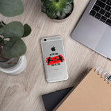 iPhone protective cover (transparent) - In the end it's you