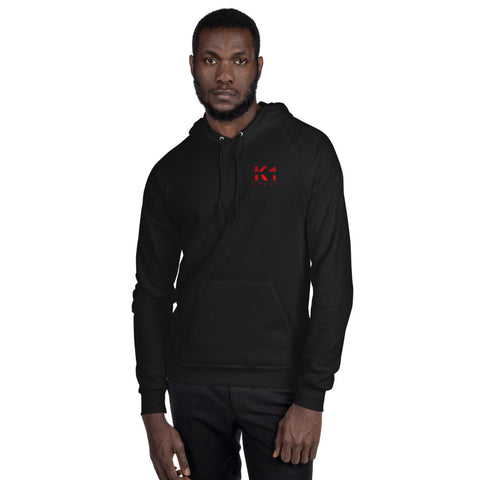 American Unisex Vlies-Hoodie - In the end it's you vs. you