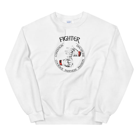 Unisex Sweatshirt Fighter - Passion, Condition, Discipline