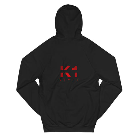Unisex hoodie made of California cotton - K1 Style