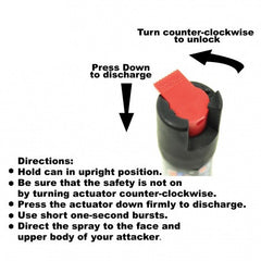 Pepper Spray – Practice Canister