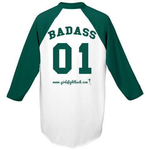 Girls Fight Back! Badass Baseball Tee