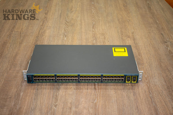 Cisco Catalyst Switch 2960-48TC - 48x 10/100 Ports - 2x T/SFP - Managed - Hardware Kings