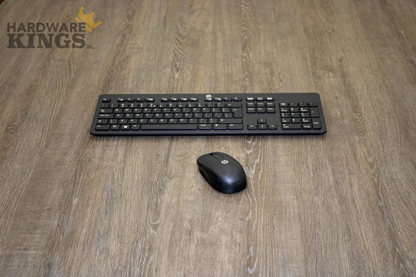 HP Slim Wireless Keyboard & Mouse - QWERTY Toetsenbord (Nieuw) - Hardware Kings
