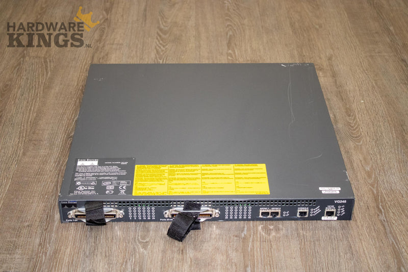 Cisco VG248 48 Port Voice over IP analog phone gateway - Gateway - 48-Port - Hardware Kings