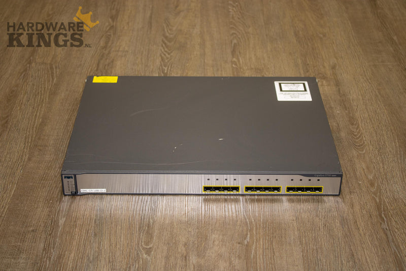 Cisco Catalyst 3750G-12S-S - Switch - 1 Gbps - WS-C3750G-12S-S V14 - Hardware Kings