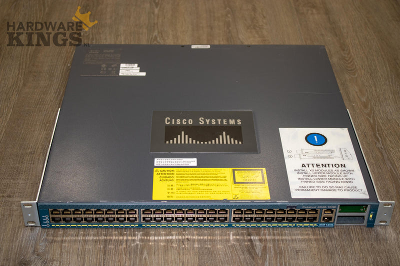 Cisco Catalyst 4948 10 Gigabit Ethernet Switch (WS-C4948-10GE-E) - Hardware Kings