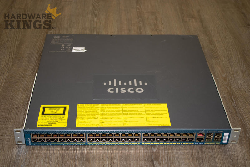 Cisco Catalyst 4948 Switch (WS-C4948-S) - Hardware Kings