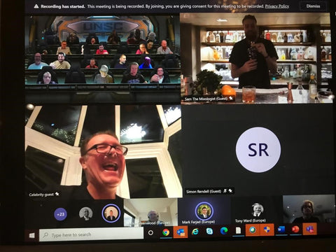 Virtual Cocktail Party with Tuffers