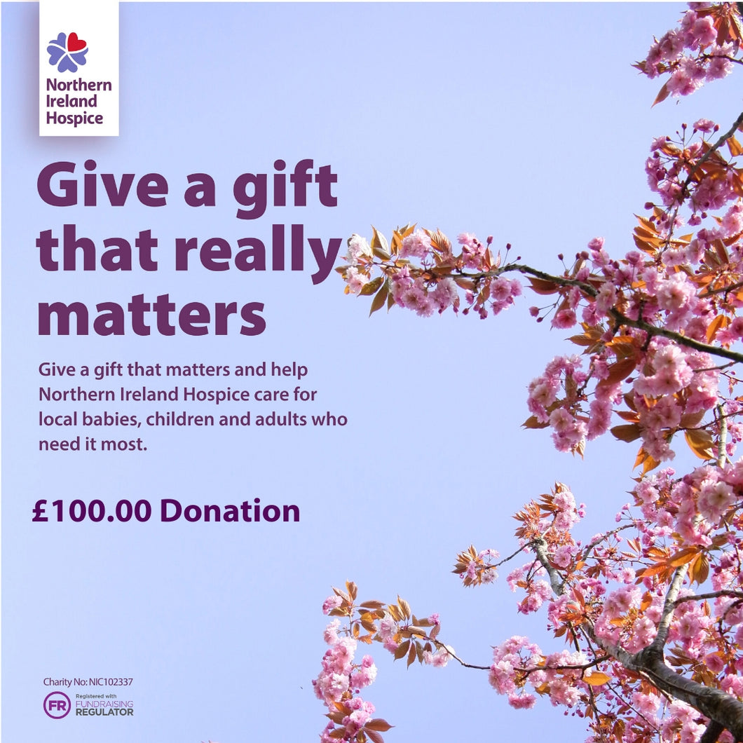 A Gift that Matters - £100.00 Donation