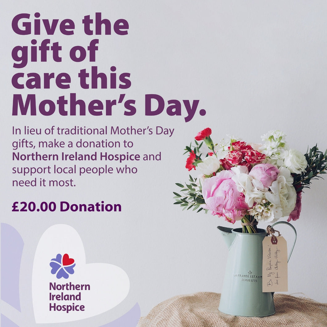 Mother's Day Gift of Care £20.00 Donation
