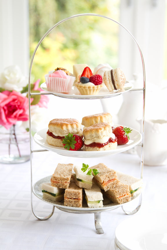 Afternoon Tea for Two at the NI Hospice's Old School House Cafe