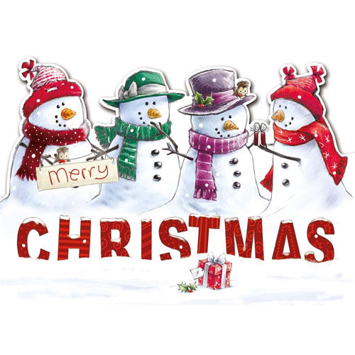 Christmas Snowmen Cards (Pack of 10)
