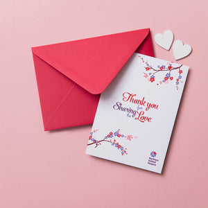 Wedding Thank You Cards (Pack of 10)
