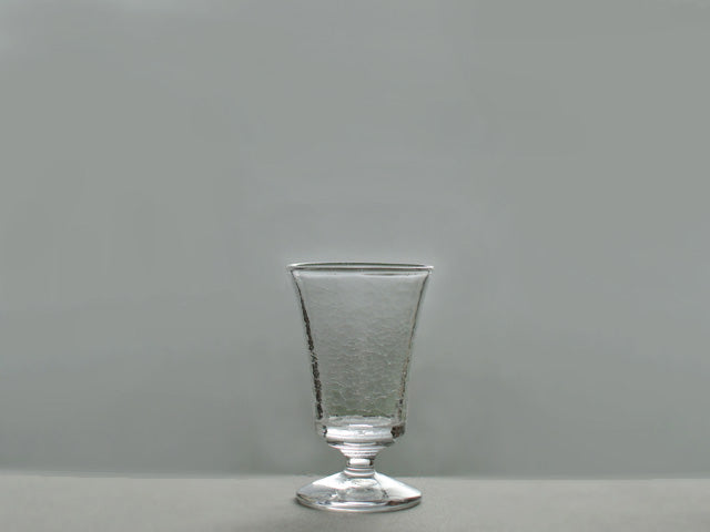 橋村大作 CRACK リキュールグラス /  Cracked  Liqueur glass by Daisaku Hashimura